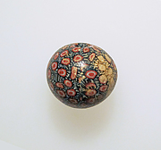 Glass mosaic bead