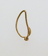 Earring with disc