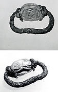 Ring, pendant, with scarab