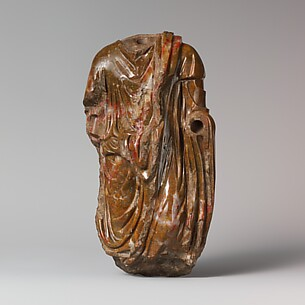 Jasper statuette of a man wearing a toga