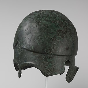 Bronze helmet of Chalcidian type
