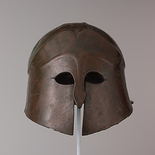 Bronze helmet of South Italian-Corinthian type