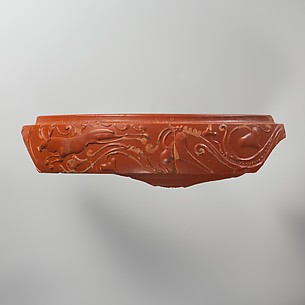 Terracotta mortarium fragment