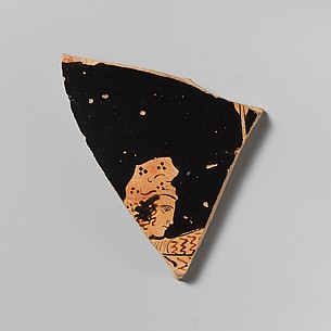 Fragment of a terracotta bell-krater (mixing bowl)