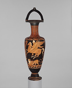 Terracotta bail-amphora (jar)