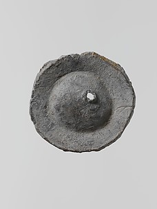 Lead disk with a hole in the center