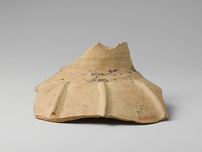Terracotta body and neck fragment of a jug