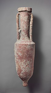 Terracotta wine amphora