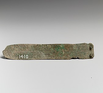 Bronze knife