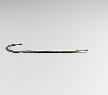 Bronze hook-pin