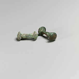 Chariot fastenings from Etruscan biga