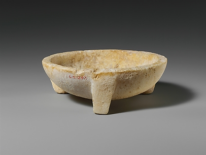 Alabaster mortar