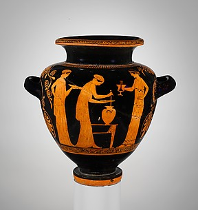 Terracotta stamnos (jar)