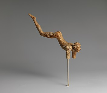 Reproduction of an ivory leaper