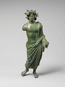Bronze statuette of a solar deity