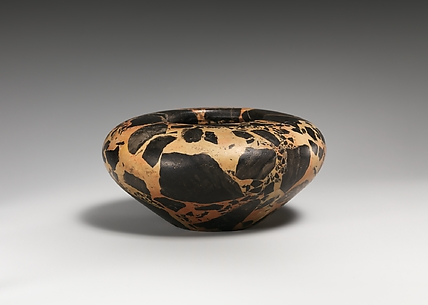 Breccia bird's-nest bowl