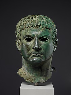 Bronze portrait of a man, identified as M. Agrippa