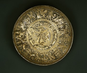 Silver-gilt bowl