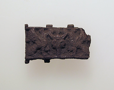 Bead, plaque from a necklace