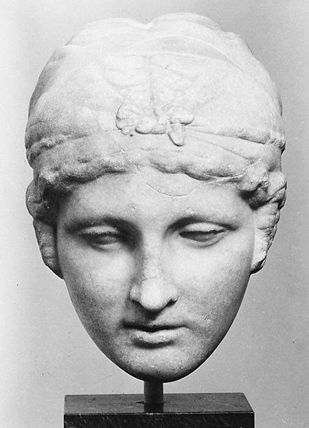 Statue portrait of Sappho?