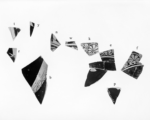 Kylix fragments