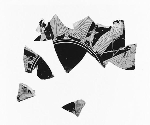 Kylix fragments