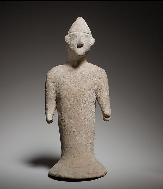 Terracotta figure of a man