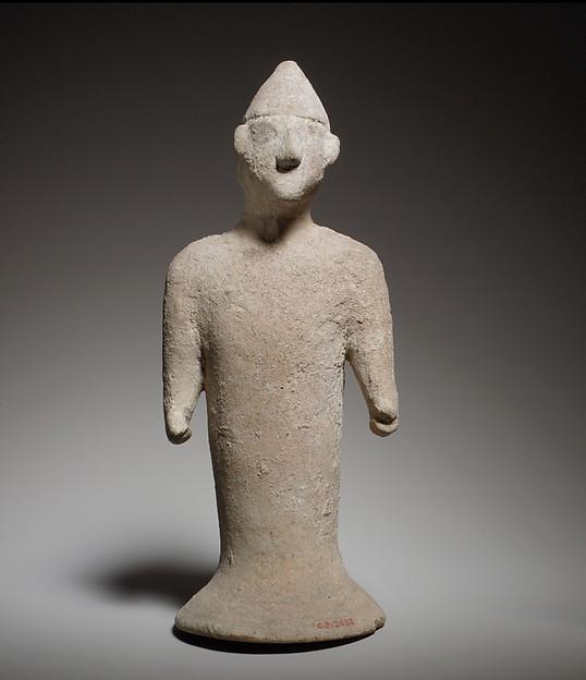 Terracotta figure of a man