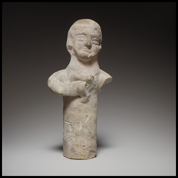 Standing male(?) figurine