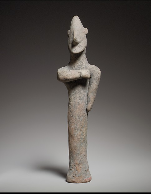 Standing male figurine