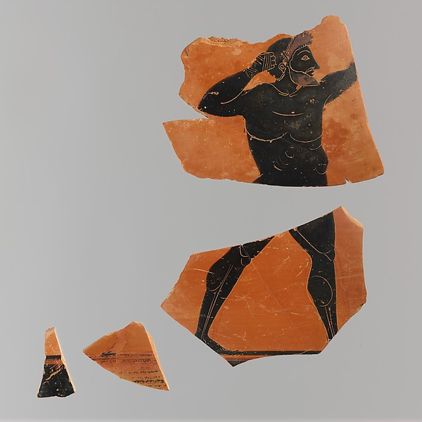 Fragments of a terracotta amphora (jar)