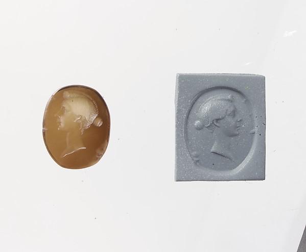 Sard ring stone