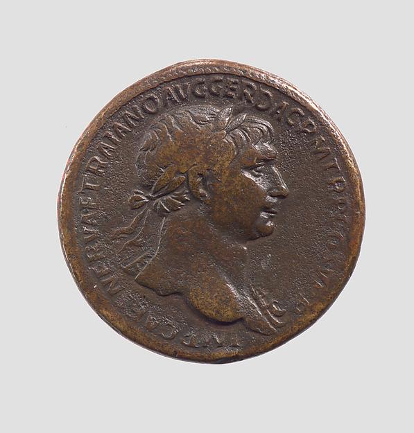 Bronze sestertius of Trajan
