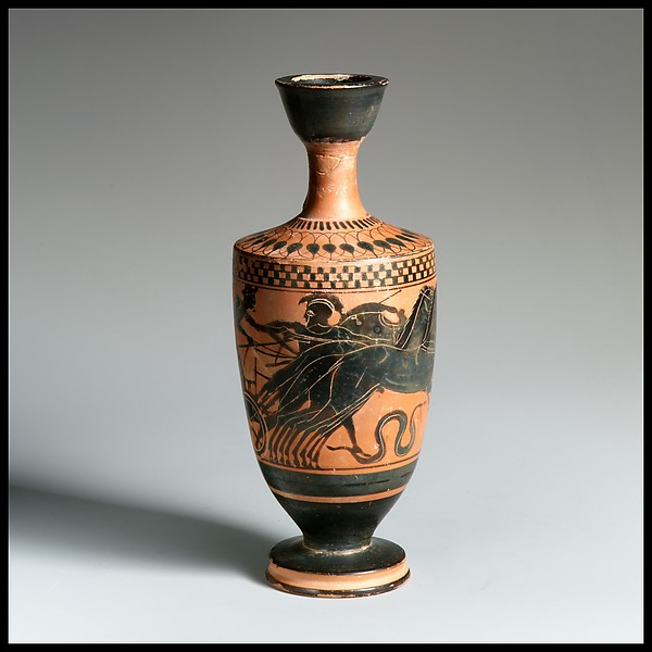 Terracotta lekythos