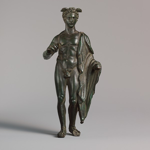Bronze statuette of Mercury