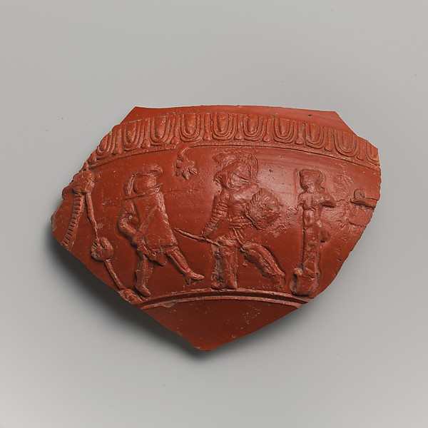 Terracotta fragment of a bowl