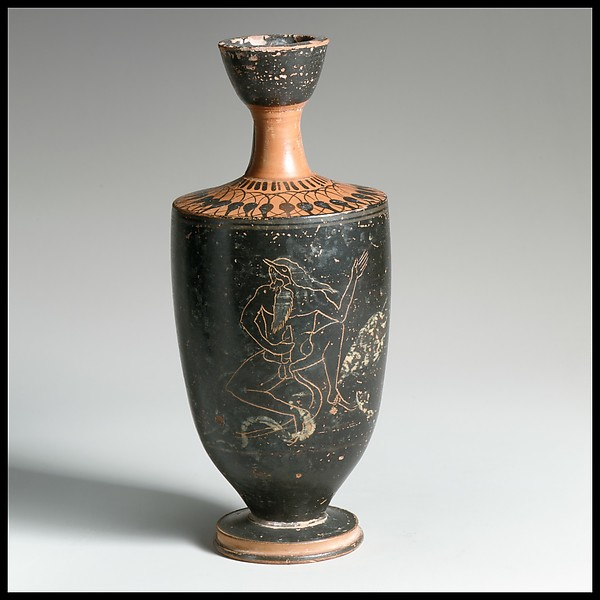 Terracottas lekythos (oil flask)