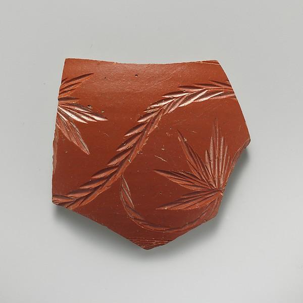 Fragment of terra sigillata
