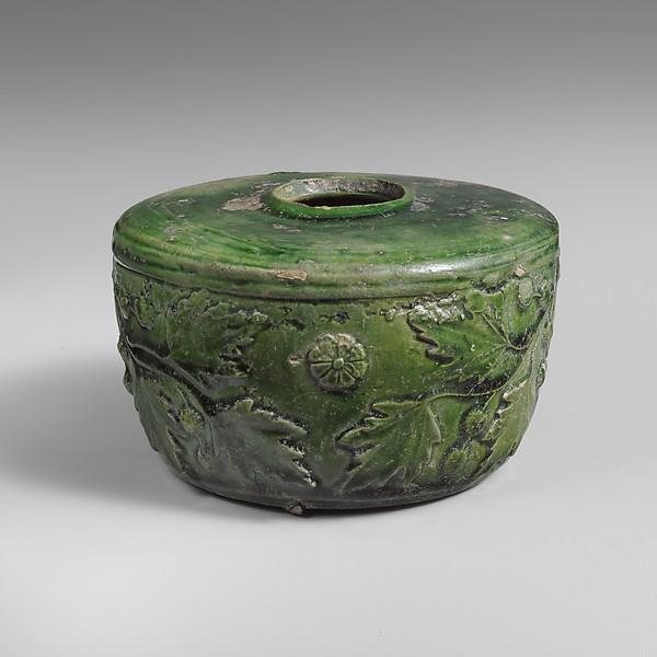 Terracotta atramentarium (inkwell)