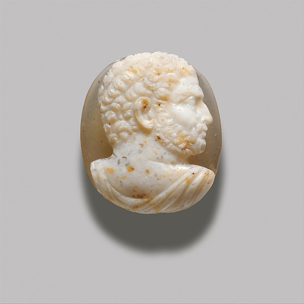 Onyx cameo bust of Caracalla