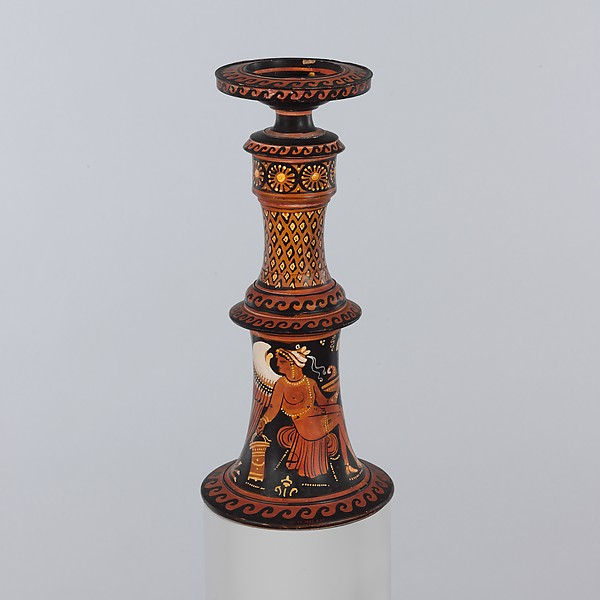 Terracotta thymiaterion (incense burner)