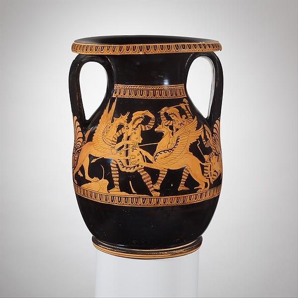 Terracotta pelike (wine jar)