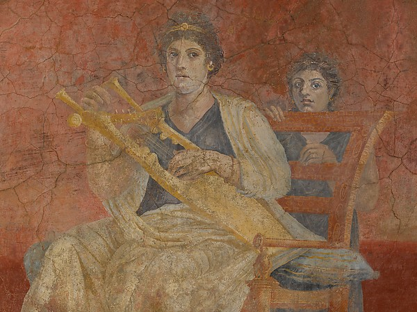 Wall painting from Room H of the Villa of P. Fannius Synistor at Boscoreale