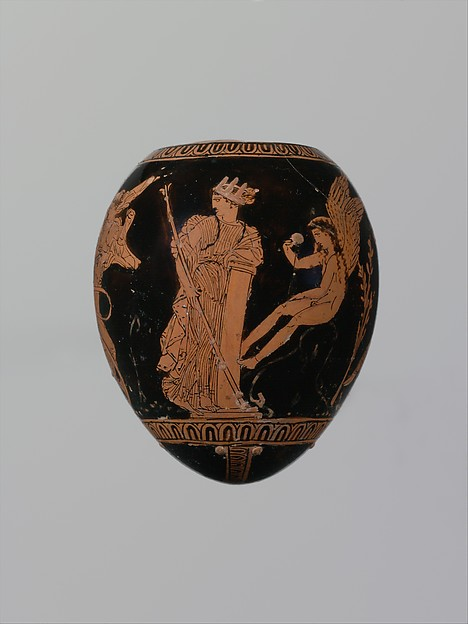 Terracotta oon (egg)