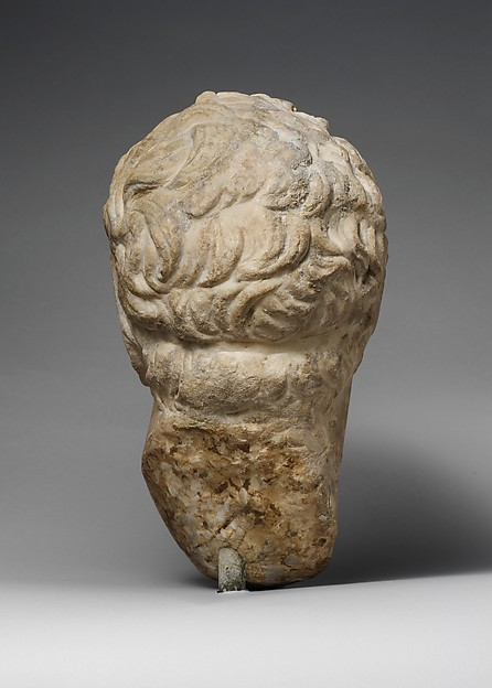 Marble head of a Hellenistic ruler