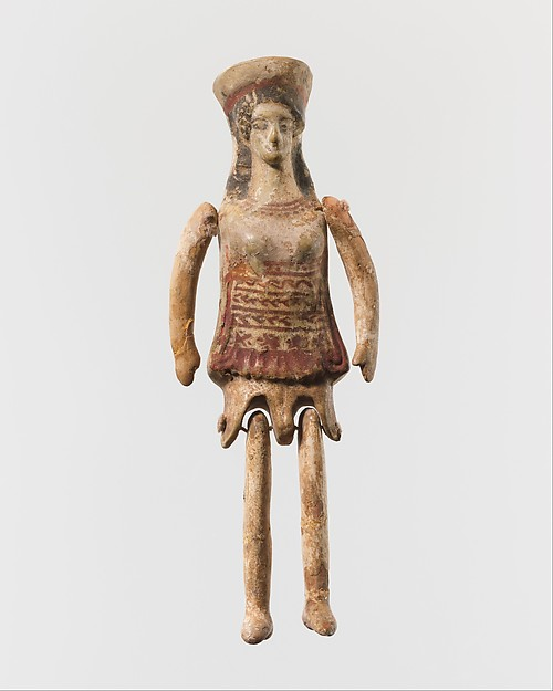 "Terracotta jointed ""doll"""