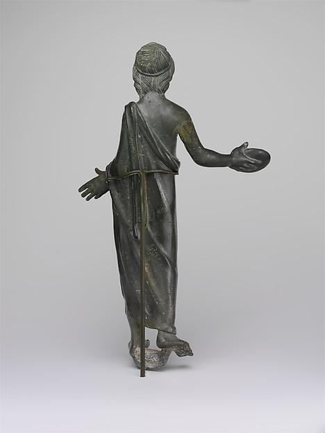 Bronze statuette of a priest