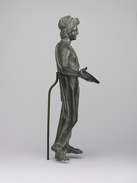 Bronze statuette of a priest