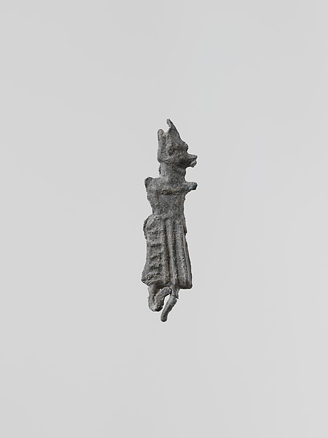 Statuette of a flute-player, female