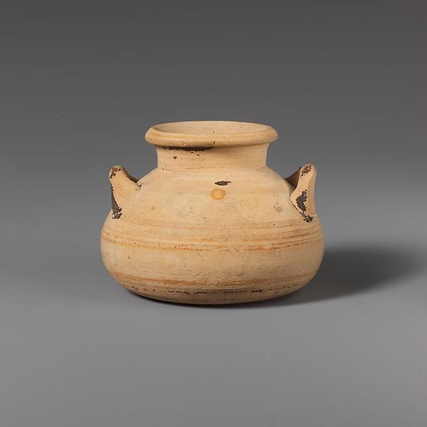 Terracotta alabastron (jar)